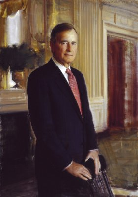 George Bush, forty-first President of the United States