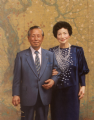 Yasuyuki Nambu, CEO, Temporary Center & Mrs. Nambu